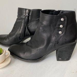 Sam Edelman Mariella Leather Ankle Boot, size 9